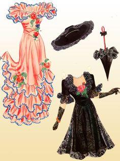 Lana Turner Paper Dolls, 1942 Whitman of Reuse Old Clothes, Paper Clothes, Clothes Crafts, Doll Clothes, Paper Dresses, Lana Turner, Paper Dolls Printable, Bobe, Vintage Paper Dolls