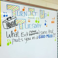 Because I need some new tunes really like any My Chemical Romance song, but for school, I would have to say that The Pheonix by Fall Out Boy is a good one. Future Classroom, School Classroom, Journal Topics, Journal Prompts, Daily Writing Prompts, Writing Resources, Morning Board, Morning Activities, Bell Work