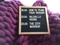I love moviemarathons! This one is dedicated to vikings! #movies #moviemarathon #vikings #dragon #blog #film