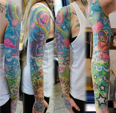 this is magical. could so see one of my girls with this sleeve