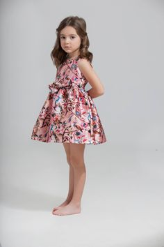Vestido Leire - Pan con Chocolate Girls Dresses, Flower Girl Dresses, Chocolate, Baby Dress, Spring Summer, Wedding Dresses, Vintage, Beauty, Style