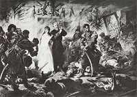 Napad Bohuna na Kurcewiczów w Rozłogach 1885.