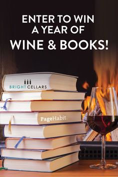 Win a year of wine & books!