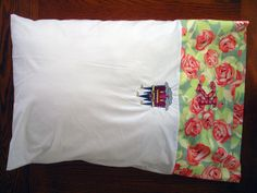 Sleep-in Late Pillowcase K by Sew Spoiled, via Flickr