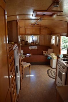 1947 Westwood Coronado. I love the glow of the wood in the older trailers. You just can't get that feeling of home in the new ones!