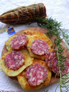 FRITTELLE DI PATATE CON SALAME NOBILE DI BRIGNANO ~ Wed 10th Dec 2014