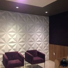 e-Joy x Vinyl Wall Paneling in White Curved Walls, Textured Walls, Wallpaper Panels, Wall Wallpaper, Vinyl Wall Panels, Home Interior, Interior Design, Apartment Makeover, Home And Deco