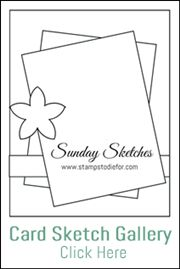 Would you like 52 different card ideas? Visit my blog www.stampstodiefor to see sketches and card ideas.