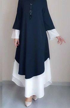 270 non lus) - - Yahoo Mail - We think you might like these Pins Modest Fashion Hijab, Abaya Fashion, Muslim Fashion, Fashion Dresses, Stylish Dresses For Girls, Elegant Dresses For Women, Stylish Dress Designs, Mode Abaya, Mode Hijab
