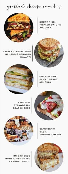 grilled cheese combo ideas