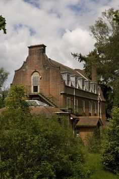 Outbuilding; Severalls Asylum, Colchester, England. Built in 1910 and opened in 1913. At its peak the Asylum could house 2000 patients making it one of the largest in the country.  It closed in 1997.