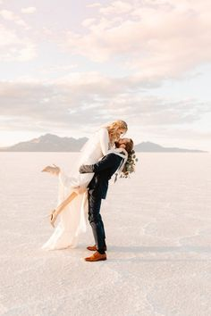 Unique and Intimate Salt Flats Elopement Inspiration | Rocky Mountain Bride Utah Wedding Photographers, Best Photographers, White Backdrop, Bridal Salon, Elopement Inspiration, Rocky Mountains, Backdrops, How To Memorize Things, Salt