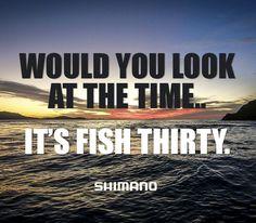 It's fish thirty o'clock #fishing #fishoclock