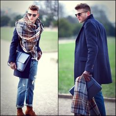 Especially love the scarf.