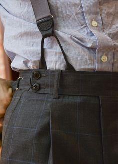 Suspenders Gentleman's Essentials Mode Masculine, Fashion Moda, Look Fashion, Classic Men, Ex Machina, Inspiration Mode, Peaky Blinders, Looks Cool, Men's Accessories
