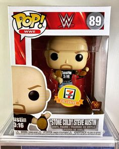 """Mario's Super Collection on Instagram: """"If you're happy to be part of the collection give me a hell yeah...#711exclusive @steveaustinbsr #funkopop #orginalfunko #wwe…"""" Stone Cold Steve, Steve Austin, Youtube Subscribers, Vinyl Figures, Funko Pop, Wwe, Mario, Give It To Me"""