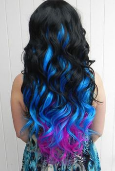 So cute, I would love to   have my hair dyed like this!