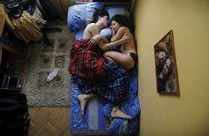 Jana Romanova Takes Photos of Sleeping Pregnant People