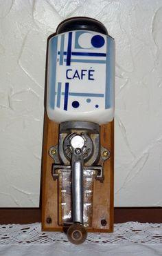 ANCIEN MOULIN A CAFE MURAL DIGOIN SARREGUEMINES