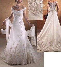 Wholesale hot sale promotion sexy LACE UP BACK PROM WEDDING DRESES GOWN wedding dress, Free shipping, $207.77-223.92/Piece | DHgate