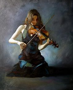 Andrei Yakovlev .... Just thought it was so beautiful! (for some reason it reminds me of a grown-up version of my daughter)