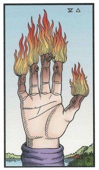 Five of Wands, Alchemical Tarot