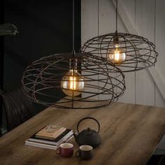 Affordable lighting at Furnwise - Shipped within 24 hours! Industrial Floor Lamps, Industrial Ceiling Lights, Drop Lights, Hanging Lights, Metal Lattice, Living Styles, Light Fittings, Ceiling Lamp, Cozy House