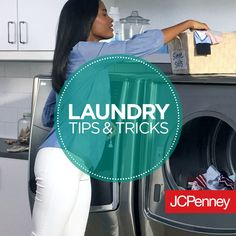 Laundry room tips and tricks to help getting that to-do chore done in 3 easy steps.