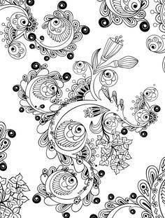 15 crazy busy coloring pages for adults page 14 of 16