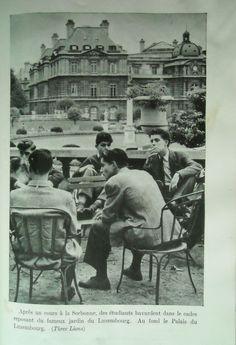 Les   ETUDIANTS , Paris   fr  LETTRES  de PARIS  , a grammar