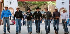 The cowboys from Cinch. Love Chandler!