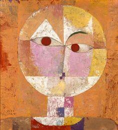 """Paul Klee, Senecio (Head of Man going senile) 1922, mentioned in """"I Scream."""""""