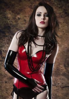 6 SUSPENDER  LATEX  BASQUE Made to measure by OohLaLatex on Etsy, £230.00