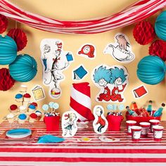 dr seuss preschool graduation ideas | ... Easy Ways to Create a Dr. Seuss Party | Fun Ideas by Oriental Trading