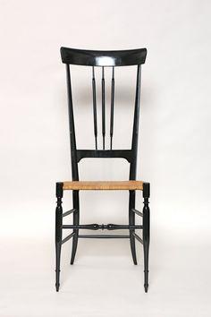 Vintage Chiavari Chair High Back Italian Wood by HollysArtShack