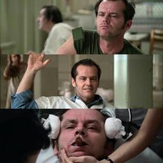 ONE FLEW OVER THE CUCKOO'S NEST THIS MOVIE IS ME, ITS MY LIFE. I LOVE IT SO MUCH.