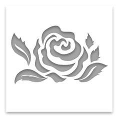 трафарет роза - Поиск в Google