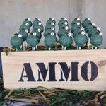 Ammo box, made by the client Army Party, Cake Pops, Dreaming Of You, Make It Yourself, Box, How To Make, Snare Drum, Cakepops, Boxes