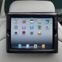 Long roadtrips with the kids are made more entertaining with our Seatback iPad® Holder! | $19.99