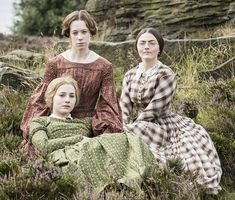 The Brontes in the new BBC film To Walk Invisible. They are from Charlie Murphy as Anne, C...
