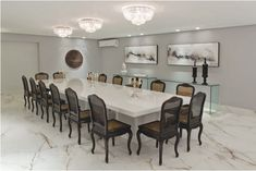Decor Salteado - Blog de Decoração   Construção   Arquitetura   Paisagismo: Salas de jantar-50 modelos maravilhosos e dicas de como decorar!