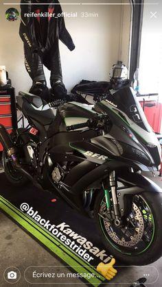 Kawasaki zx10rr @blackforestrider