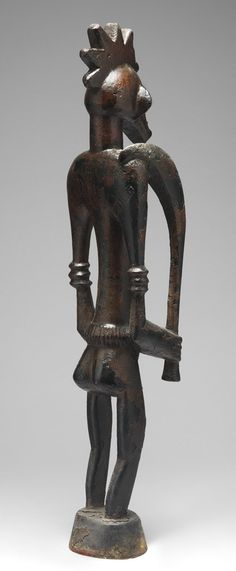 Male and Female Poro Altar Figures (Ndebele) [Côte d'Ivoire; Senufo] (1979.206.193,4) | Heilbrunn Timeline of Art History | The Metropolitan Museum of Art