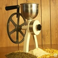 Little-Ark™ Mill -  hand-powered grain mill. very affordable, like the milling stone