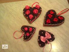 Кофейные валентинки станут приятным подарком ко дню влюбленных. Сделаны с любовью и добротой. Цена большой валентинки - 40грн.,маленькой - 30 грн.