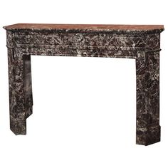 Fine French Louis XVI Period Marble Mantle