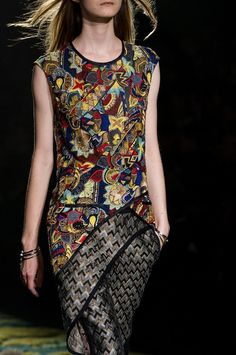 Dries van Noten | SS15 || posted by haute-vanity