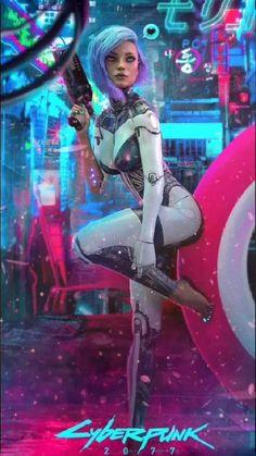 #cyberpunk #cyberpunk2077 #videogame #3dgirl #3dcharacter #characterinspiration #characterdesign #dystopia #dystopiancity #cyberpunkfashion #cyborg #replicant #robotgirl #robot #femalerobot #android #cyborggirl #gun #guns #femalewarrior #cyberpunkgirl #cyberpunkcharacter #futuristic #bladerunner #bladerunner2049 #characterdrawing #femalecharacter #scifi #conceptart #sciencefiction #neonoir #hightechlowlife #cyberpunkcity #cyberpunkart Cyberpunk Anime, Cyberpunk Girl, Arte Cyberpunk, Cyberpunk Character, Cyberpunk Fashion, Cyberpunk 2077, Cyberpunk Aesthetic, Neon Aesthetic, Character Inspiration