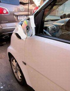 More geniusly ghetto car repairs...