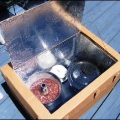 A solar oven, sometimes referred to as a solar cooker, is a device that allows you to cook food using the sun's energy as fuel. The most common...